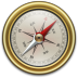 Compass-Gold icon