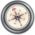 IPhone-Compass-Silver-2 icon
