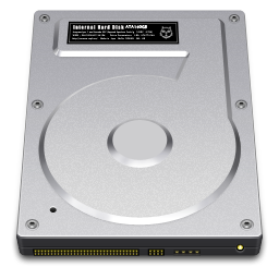 Internal Drive 160GB icon