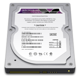 Internal Drive 500GB icon