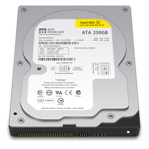 Internal Drive 250GB icon