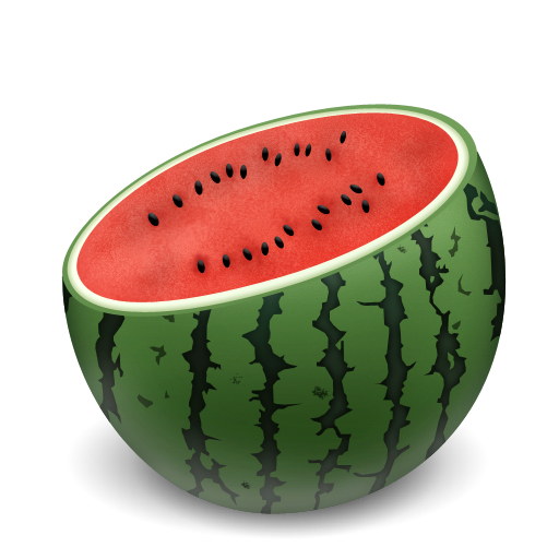 Watermelon Cuts Icon Japan Summer Iconset Mcdo Design