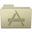 Applications Folder Ash icon