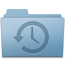 Backup Folder Blue icon