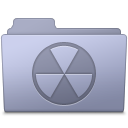 Burnable-Folder-Lavender icon