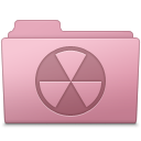 Burnable Folder Sakura icon