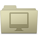Computer Folder Ash icon