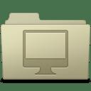 Computer Folder Ash icon