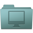 Computer-Folder-Willow icon