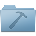 Developer Folder Blue icon