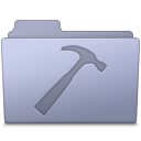Developer Folder Lavender icon