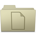 Documents Folder Ash icon