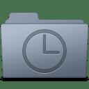 History Folder Graphite icon