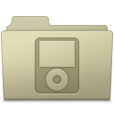 IPod Folder Ash icon