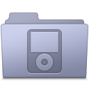 IPod-Folder-Lavender icon