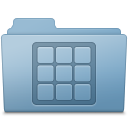 Icons Folder Blue icon