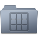 Icons Folder Graphite icon