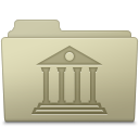 Library Folder Ash icon