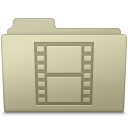Movie Folder Ash icon