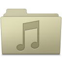 Music Folder Ash icon