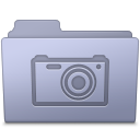 Pictures Folder Lavender icon