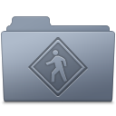 Public Folder Graphite icon