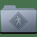 Public Folder Graphite icon
