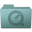 QuickTime Folder Willow icon