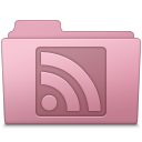 RSS Folder Sakura icon