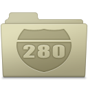 Route Folder Ash icon