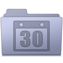 Schedule Folder Lavender icon