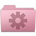 Setting Folder Sakura icon