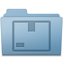 Stock Folder Blue icon