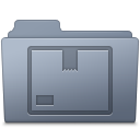 Stock-Folder-Graphite icon