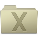 System Folder Ash icon