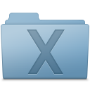System Folder Blue icon