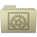 System Preferences Folder Ash icon