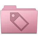 Tag Folder Sakura icon