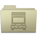 Transmit Folder Ash icon