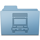 Transmit-Folder-Blue icon