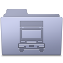 Transmit Folder Lavender icon