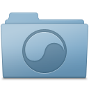 Universal Folder Blue icon