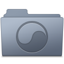 Universal Folder Graphite icon