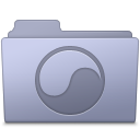Universal Folder Lavender icon