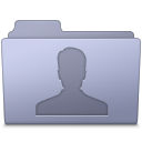 Users Folder Lavender icon