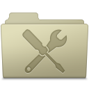 Utilities Folder Ash icon