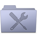 Utilities Folder Lavender icon