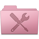 Utilities Folder Sakura icon