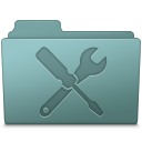 Utilities Folder Willow icon
