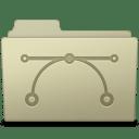Vector Folder Ash icon